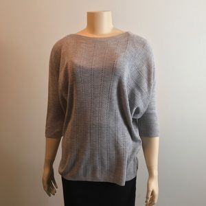 The Limited Grey 3/4 sleeve sweater sshirt